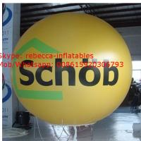 Round shape advertising inflatable helium balloon Manufactures