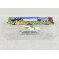 Clear Plastic OPP Fruit Packaging Bags ,Transparent Food Packaging Bags Manufactures