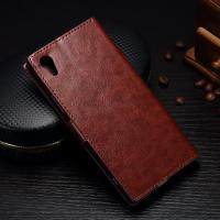 Shock Resistant Sony Xperia Leather Case For XA1 Colorful Soft Three Cards Slot Manufactures