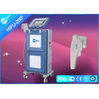 Quality Vertical HIFU Ultrasound Machine Face Lifting Equipment 30W with 1.5mm & 3.0mm & 4.5mm for sale