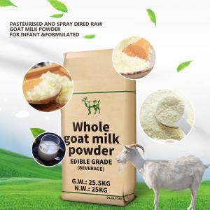GMP 28% Fat Full Cream Dry Whole Goat Milk Powder