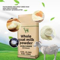 Quality GMP 28% Fat Full Cream Dry Whole Goat Milk Powder for sale