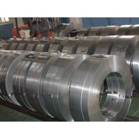 Slit Hot Rolled Steel Strips SS400 , Hot Dipped Galvanized Steel Coils Manufactures