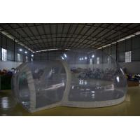 White Pvc Inflatable Exhibition Tent / Clear Tent  To Going Green Manufactures