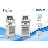 Portable non-surgical face lift equipment hifu for skin tightening for beauty clinic using Manufactures