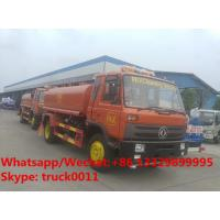 Quality HOT SALE! customized dongfeng 4*2 RHD 10,000Liters water sprinkling truck for Timor-Leste, dongfeng water tank truck for sale