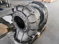 Precision Machined Ductile Iron Pump Body For Water System Manufactures