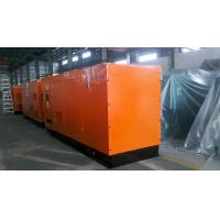 Outdoor Standby Power Generator 250KW / 313KVA , Water Cooled Diesel Generator Manufactures