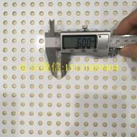 hexagonal hole perforated metal sheet / aluminum panel perforated outdoor steel screen Manufactures