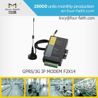 F2414 3G sim card MODEM with serial port support RS232/485 for meter monitoring Manufactures
