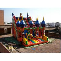 Waterproof Children Inflatable Sports Games , Commercial Slide For Fun Jumpers Manufactures