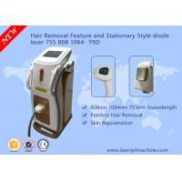 Depilation Diode Laser Hair Removal Machine 3 Wavelength 755nm 808nm 1064nm Manufactures