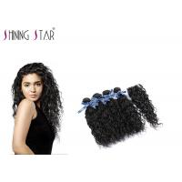 4 Pcs Unprocessed Human Hair Bundles , Long Peruvian Unprocessed Virgin Remy Hair Manufactures