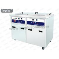 130 Liter 1800w Dual Slot Stainless Steel Ultrasonic Cleaner Machine Dring Tank SUS316L Manufactures