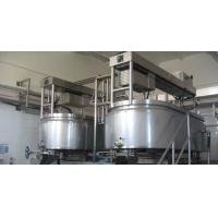 SUS304 Industrial Cheese Making Machine With Heating , Cooling Jacket And Agitator Manufactures