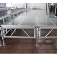 6082 Aluminum Movable Stage Platform 18mm Thinkness Anti Slip And Fireproof Plywood For event on water Manufactures