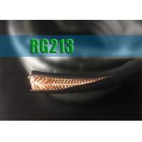 Quality RG213 50 Ohm Coaxial Cable 7*0.75 Tinned or Bare Copper Conductor Antenna Wire for sale