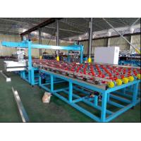 Horizontal Automatic Glass Seaming Machine , Four Side Glass Processing Plant Manufactures