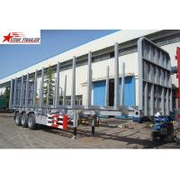 China Wood Pulling Timber Roro Mafi Trailer 3 Axles Container Skeletal Semi Trailer on sale