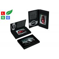 4.3 Inch LCD Advertising Display Video Screen Brochure With A4 A5 Full Color Printed Card Manufactures