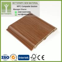 China Decorative Waterproof Composite Plastic Wood Brick Wall Facade Cladding WPC Exterior Wall Panel on sale