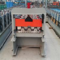 Buy cheap Lightweight Concrete Forming Machine 915mm Floor Deck Roll Forming Machine from wholesalers