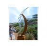 Buy cheap Custom Size Modern Rusty Outdoor Garden Yard Corten Steel Eye Sculpture from wholesalers