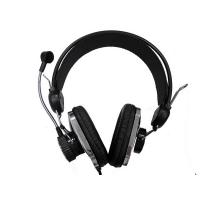 China Ergonomically designed 16 ohms / 1.2m computer microphone / stereo headset microphone on sale
