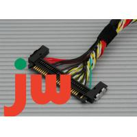 15.6  30 Pin Dupont 2.0 Lvds Display Cable With Double Row Connector DF19 To DF 13 SCT Manufactures