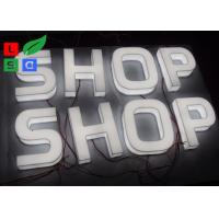 Quality Front / Side Lite LED Illuminated Letter Signage With Polished Brass Letter for sale