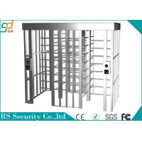 Anti-static Intelligent Full Height Turnstile Suitable Enterprise Managerment Manufactures