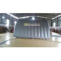 Attrative PVC Tarpaulin Logo Printing Inflatable Dome Tent With Two Door Manufactures