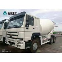 Buy cheap SINOTRUK HOWO 371hp 6x4 10 Wheels 10 Cubic Meters Stock Concrete Mixer Truck from wholesalers