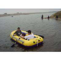 0.8mm PVC Inflatable Boat , Launch And Motorboat For Beach , Lake And Very Big Swimming Pool Manufactures