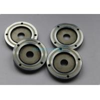 Auto Precision Plastic Mold Components Silver Wheel Gear With Steel Material Manufactures