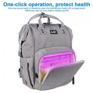 300D PU Cation Nursing Bottle LED UV Disinfection Mummy Bag Manufactures