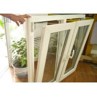 Single or Double Glass Aluminium German Tilt And Turn Windows Powder Coating Manufactures