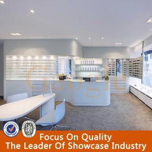 wood glasses optical shop decoration display/optical shop interior design Manufactures