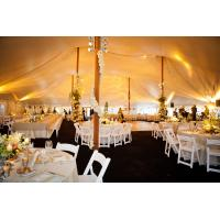 2018 New White PVC Geodesic Dome Wedding Party Marquee Tent For 1000 People Manufactures