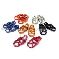 Aluminum Alloy Oversize Dirt Bike Foot pegs Footpegs KTM SX SXF 125 250 350 450 2016 Manufactures
