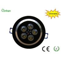 Ce & RoHs approval 5W AC110 / 220V, 30 / 60 degree 50000h dimmable LED downlights,2 years warranty Manufactures
