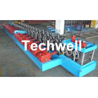 Quick Change C / Z Shaped Purlin Roll Forming Machine  / Channel Roll Forming Machine Manufactures