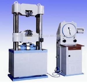 hot sale and lower price Analog Display Hydraulic Universal Testing Machine WE-1000C