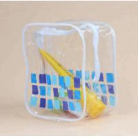 Fashion Heat Resistant Clear Vinyl Toiletry Bag For Packing Gifts Manufactures