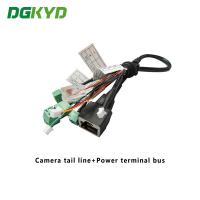 Surveillance Cameras Ethernet Cable Camera Tail Line With Power Terminal Bus Manufactures
