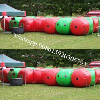 Alien Themed Laser Bug Maze Inflatable Games Manufactures