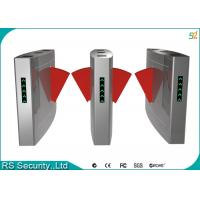 Blue Wing Retractable Flap Barrier Gate Widely Used Airport Railway Station Manufactures