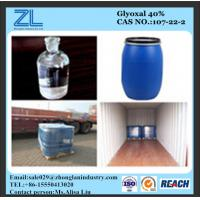 Glyoxal, 40% in Water (Formaldehyde<500ppm) Manufactures