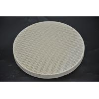 Refractory Ceramic Gas Stove Plates Round Shape For Baking Bread SGS Manufactures
