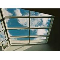 Curtain Wall Glass Flat Laminated Safety Glass 5mm Toughened Glass Manufactures